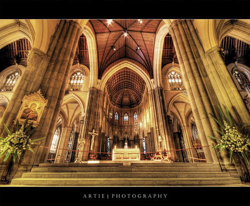 St Patrick's Cathedral, Melbourne (IV) :: HDR