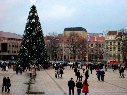 [litouwen] Drukte rond de kerstboom