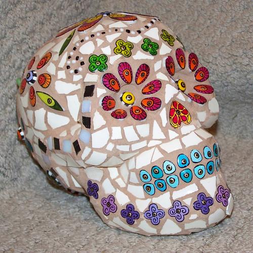 day of dead skull. Day of the Dead Skull