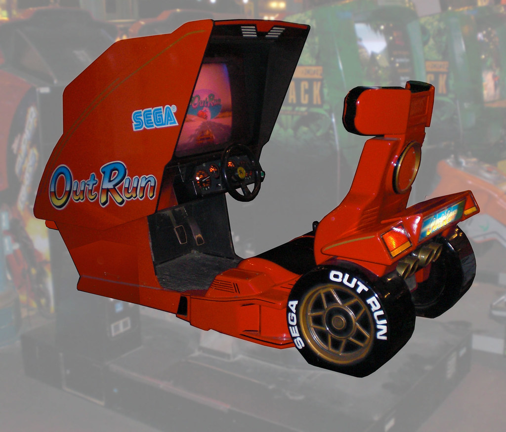 WTB - OutRun Deluxe Cabinet... to convert into a real car - KLOV ...