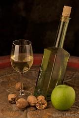Fine Wine (jenson7) Tags: green apple glass wine alma di bor veg slidr hord