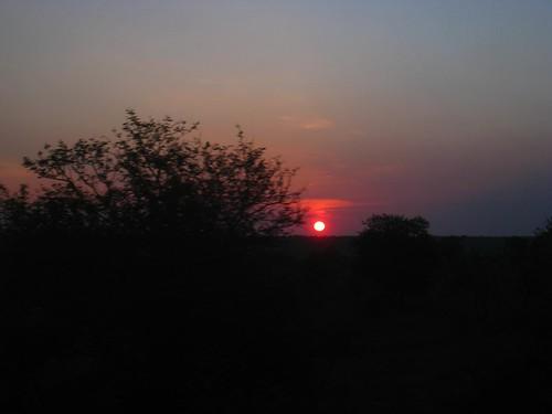 Sunrise over Kruger Park