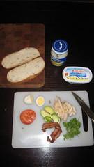 Sandwich parts