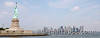 Statue of Liberty and NYC Skyline Panoramic