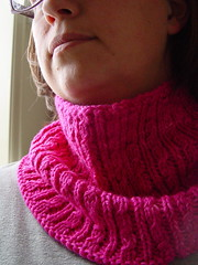 Anniversary Cowl - on 2