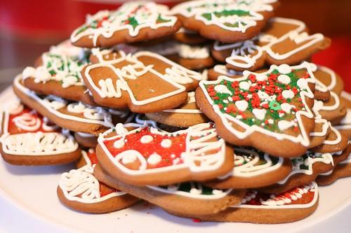 Christmas icing cookies 20083