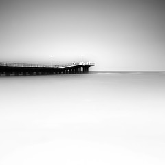 White (Khaled A.K) Tags: sea sky seascape pier surrealism surreal sa jeddah saudiarabia khaled waterscape ksa saudia jiddah kashkari