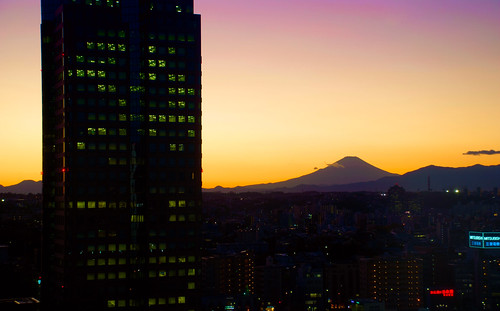 Fuji from the Office 01