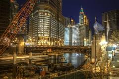 Night River Scene