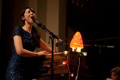 Lisa Hannigan: Harmonium action (crazybobbles) Tags: music folk live stjohns bands gigs concerts lisahannigan lastfm:event=804743