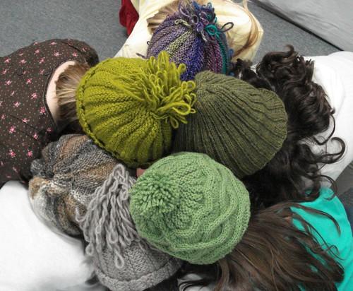A consortium of Xmas hats!