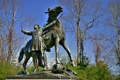 General Lloyd Tilghman Full (Terry G Alexander) Tags: monument statue union confederate civilwar creativecommons hdr highdynamicrange vicksburgnationalmilitarypark singlejpghdr generallloydtilghman