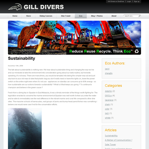 Gill Divers - Eco