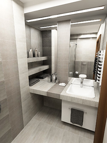 Luxury Bathroom in private apartament, Krzeszowice near Cracow, by InsideLab