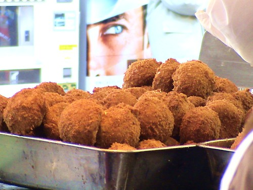 satou fried beef meatballs