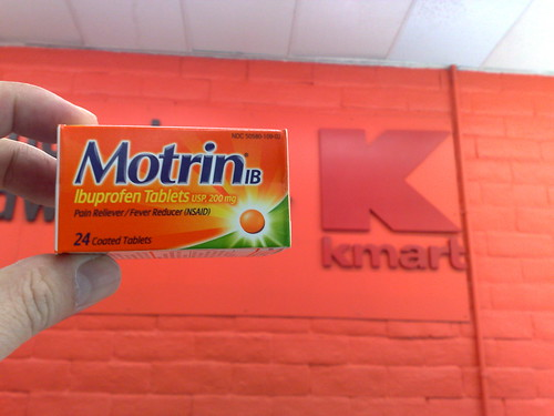 Motrin and Kmart