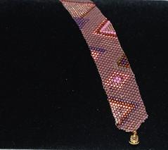 Bracelet 10 (Beadazzled of Oregon) Tags: bracelet beaded beadwork beadweaving ebwteam jeaelry