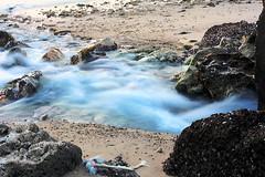 Tiny Waterfall .. (Eng. Fouzan Al-Fouzan) Tags: water waterfall rocks kuwait q8