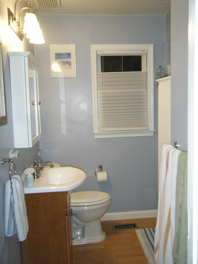 New bathroom complete!