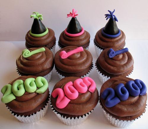 New Years 2009 cupcakes