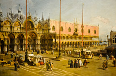 Canaletto - The Square of Saint Mark's, Venice at National Art Gallery (mbell1975) Tags: venice usa art saint museum painting smithsonian canal us dc washington italian gallery museu grand musée musee m marks master national painter venetian museo masters antonio 2008 muzeum giovanni nga italiano canaletto müze museumuseum