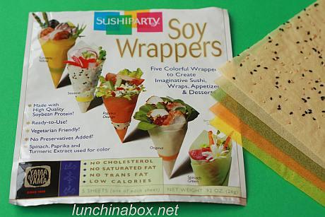 Mamenori soy wrappers