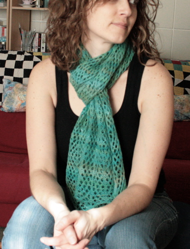 Diamond Lattice Stole 4