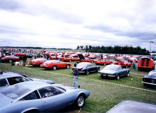 Ferraris at Silverstone 1992