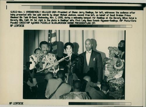 Jackson Michael - Nov 01 1995