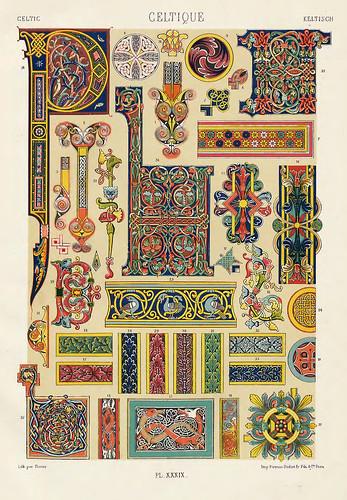 014-Ornamentos policromados celtas-Das polychrome Ornament…1875
