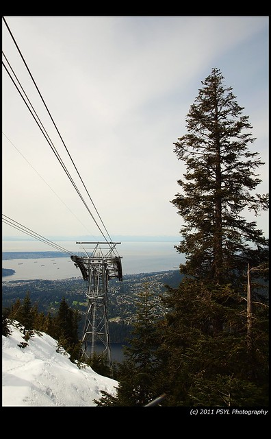 City View from Grouse Mountain
