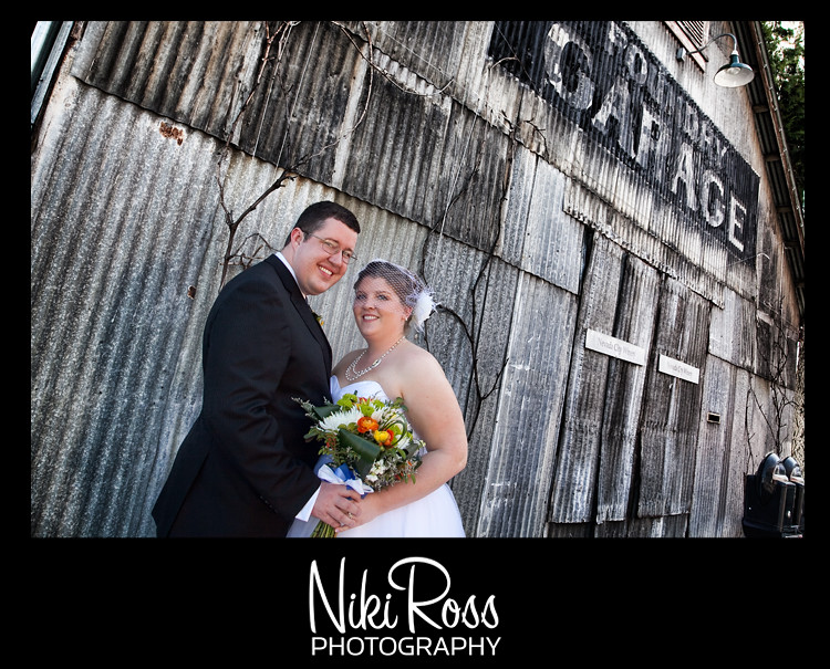 bride-groom-garage