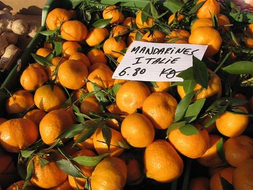 Italian mandarin oranges