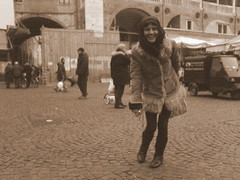 (budi.m) Tags: people italy streets sepia padova inthecity