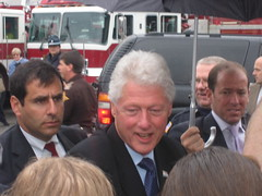 Shaking Hands with Bill Clinton - 2008