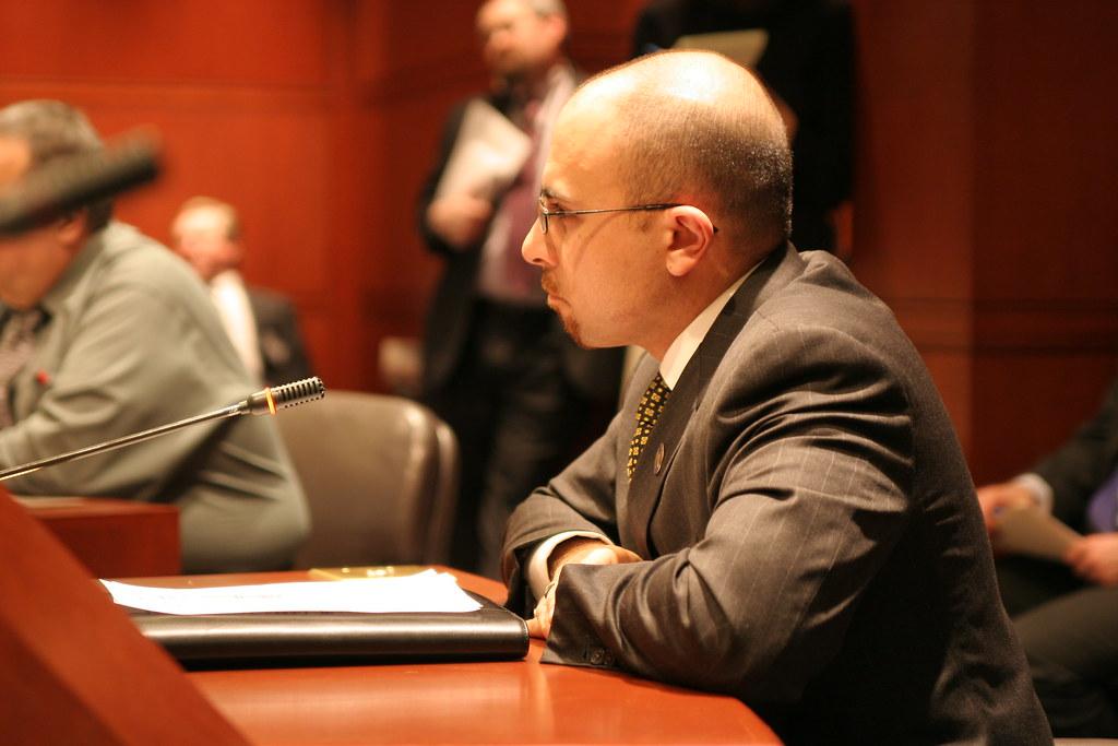 Representative Jason Perillo (R-Shelton) Testifies before Committee.