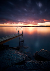 Paradise Bay II (Anders Hagen-Nsset) Tags: sunset norway canon pier jetty 5d waterscape
