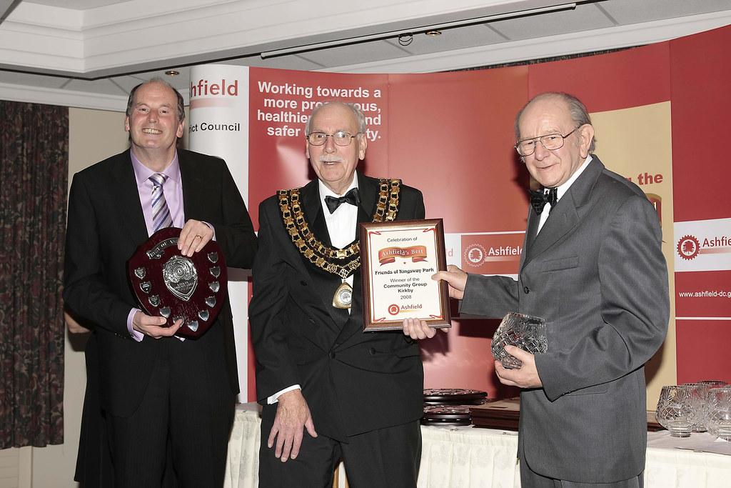 Ashfield Community Group  of the Year 2008 (Kirkby-in-Ashfield) - Friends of Kingsway Park