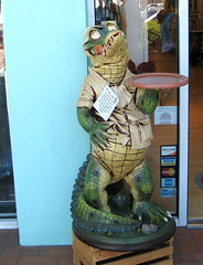 Love this gator guy we saw outside of one of the shops in St. Armand's Circle