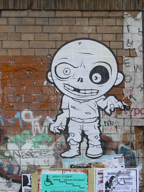 Zombie Paperart