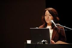 台灣崔愫欣代表亞太綠黨聯盟發表演說