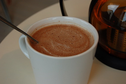 Chokladfabrikenのホットチョコ