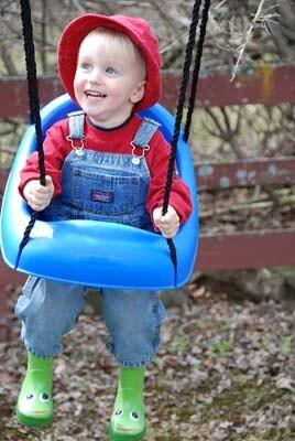 more spring swinging