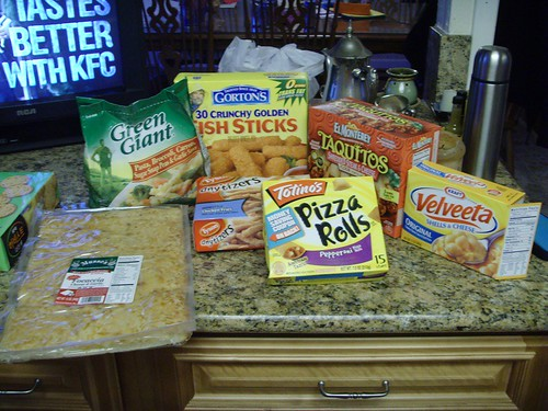 processed food night