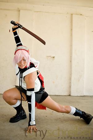 Naruto Sakura Haruno Foto Cosplay