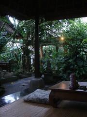 In pagode van Café Wayan