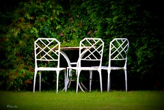 Three chairs (philwirks) Tags: wcc cricket picnik myfavs luminosity philrichards wirksworth show08 unlimitedphotos sonyalphadslra200