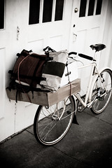 Today's cargo (Adam A.) Tags: bike bicycle things cargo kogswell porteur 650b kogswellpr zugster