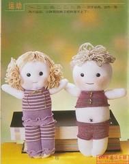 eldiven ve çoraptan oyuncak bebek yapılışı