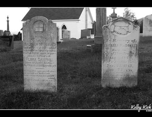 Aspy Bay Graveyard, Nova Scotia